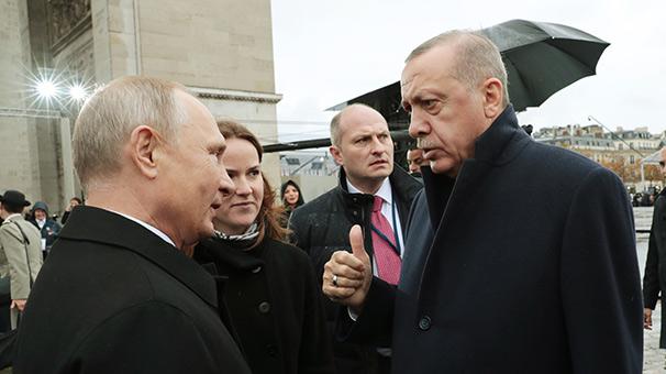 Erdoğan ile Vladimir Putin bir araya geldi
