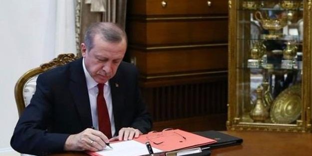 Erdoğan imzaladı! İşte yeni atama kararları