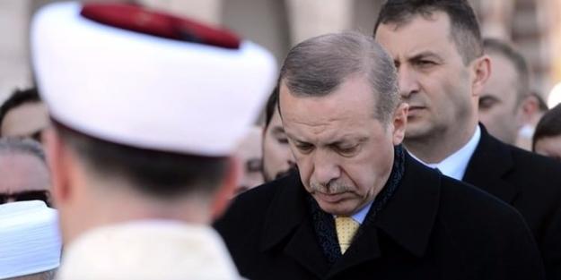 Erdoğan İbrahim Bodur'un cenazesine katıldı