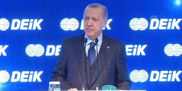 Erdoğan İstanbul'dan seslendi! 'Önümüzdeki günlerde, büyük bir yükseliş olacak'