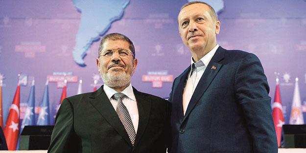 Erdoğan istese Mursi desteğini unutturabilirdi!