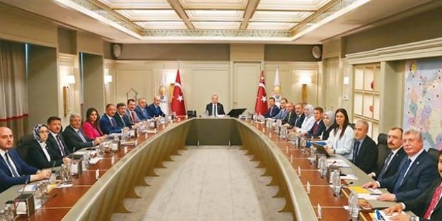 """Erdoğan kritik toplantıda talimatı verdi! """"Bunu iyi yapamadık"""""""