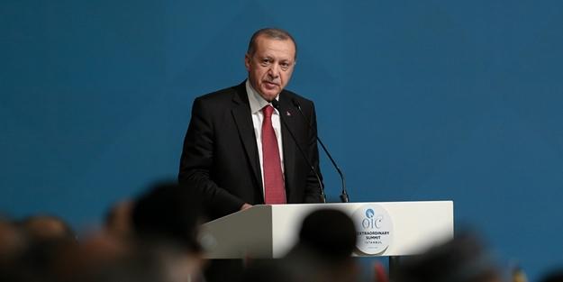 Erdoğan Kudüs bildirisini açıkladı