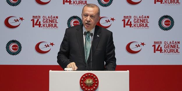 Erdoğan o noktaya dikkat çekerek söyledi: Milletime şikayet ediyorum
