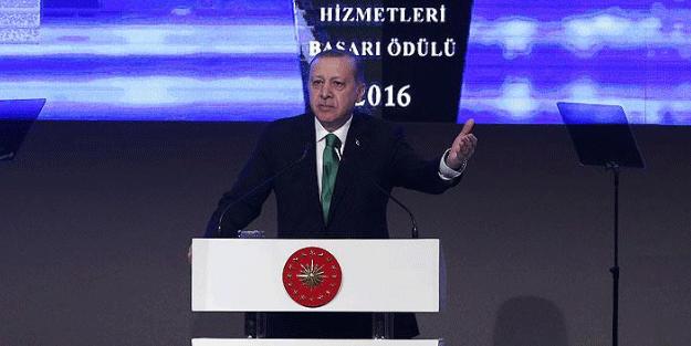 Cumhurbaşkanı Erdoğan: Geriye gitmek yok!