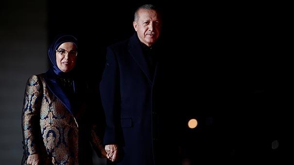 Erdoğan, Picasso Bleu et Rose Müzesi'ndeki yemeğe katıldı