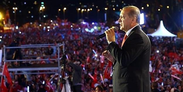 Erdoğan: Piyonları ezmeden vezirlere ulaşamayız! Önce hainlerin kafasını koparacağız!