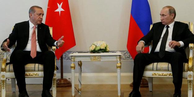 Erdoğan-Putin zirvesi öncesi Rusya'dan flaş açıklama