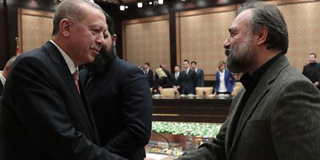 Erdoğan 'reis' esprisiyle Oktay Kaynarca'yı güldürdü