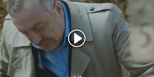 Erdoğan sahnesi geceye damga vurdu!