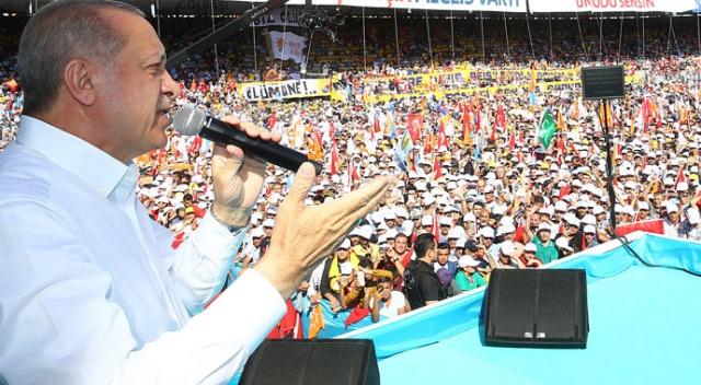 Erdoğan: Şaşırmışlar, bunlara kalsa ülkeyi satarlar!
