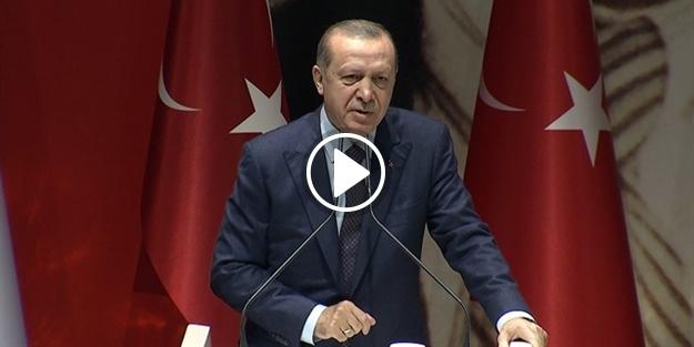 Erdoğan sert konuştu: Siz yalancısınız!