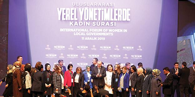 Erdoğan: Terör seviciler kadın şehitlerimize kör