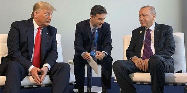 Erdoğan-Trump görüşmesine ilişkin ilk açıklama