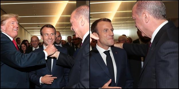 Başkan Erdoğan, Trump ve Macron'la görüştü