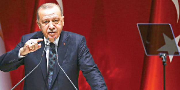 Erdoğan, 'Türkiye işgalci' diyenlere ağzının payını verdi! Bölgedeki tek meşru güç Türkiye