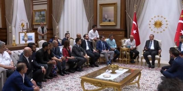 Erdoğan ünlü isimleri konuk etti