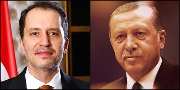 Erdoğan ve Erbakan'dan sürpriz görüşme!