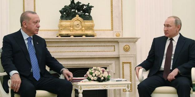 Erdoğan ve Putin anlaştı