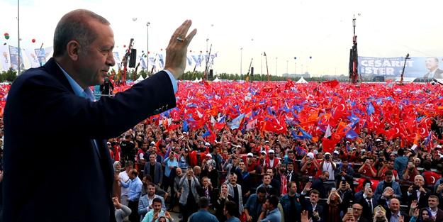 Erdoğan, Yenikapı'da milyonlara hitap etti!