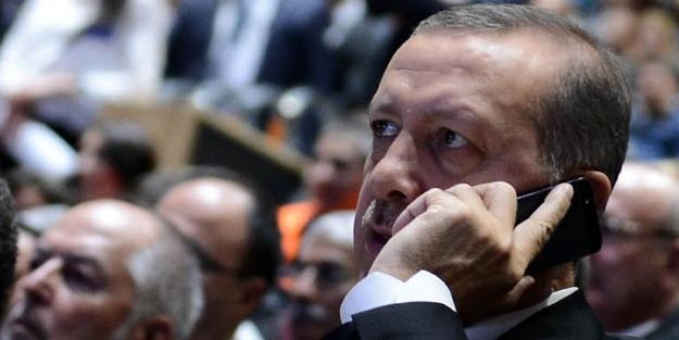 Erdoğan yetkililerden bilgi aldı