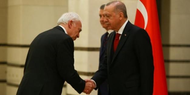 Erdoğan, Yunan Büyükelçi'yi kabul etti