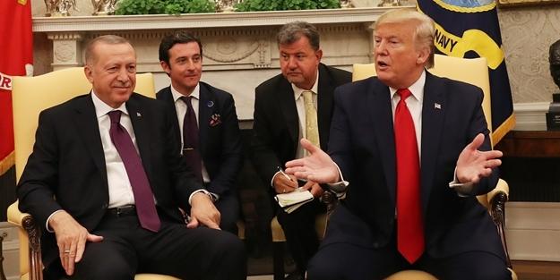 Erdoğan ABD'li senatörlerle görüştü!