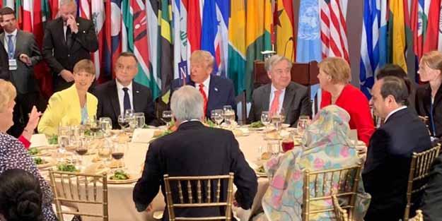 Erdoğan'dan BM'de Sisi tepkisi! Aynı masaya oturmadı