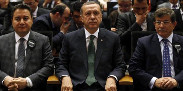 Erdoğan'dan Davutoğlu ve Babacan'a olay