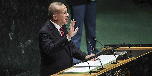 Erdoğan'dan dünyaya 'Güvenli Bölge' çağrısı!