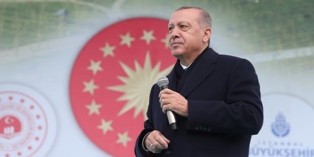 Erdoğan'dan 'Ertuğrul Gazi' mesajı