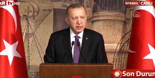 Erdoğan'dan flaş dolar ve euro açıklaması