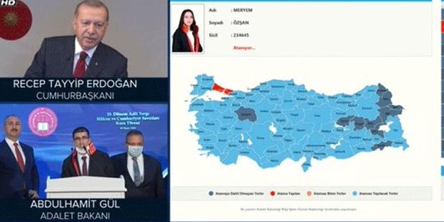 Erdoğan'dan gülümseten 'atama' sorusu