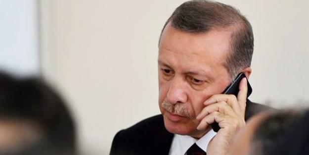 Erdoğan'dan Halisdemir ailesine telefon