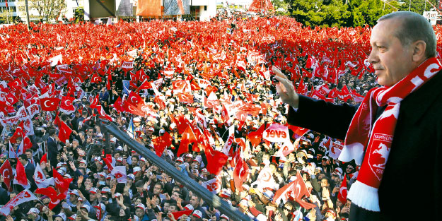 Erdoğan'dan 'Hayır' standına sürpriz!
