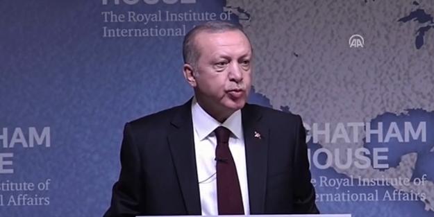 Erdoğan'dan İngiltere'de Kudüs açıklaması: İtiraz ediyoruz