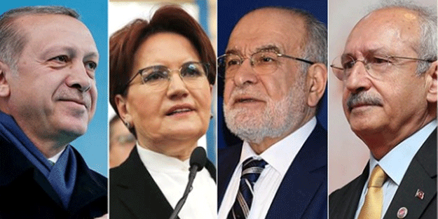Erdoğan'dan Kılıçdaroğlu, Akşener ve Karamollaoğlu'na büyük fark!