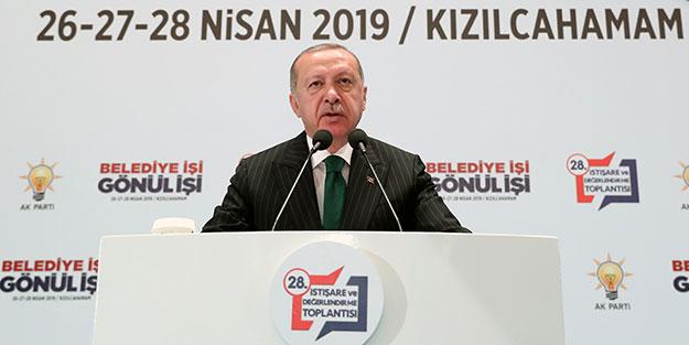 Erdoğan'dan Kılıçdaroğlu'na: Sen siyasi istismar için oraya gittin
