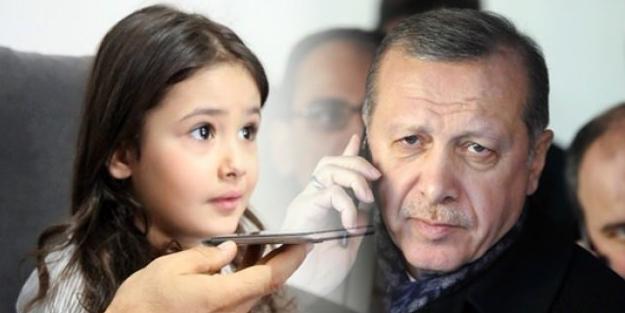 ERDOĞAN'DAN MİNİK IRMAK'A SÜRPRİZ!