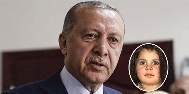 Erdoğan'dan minik Leyla'nın babasına söz!