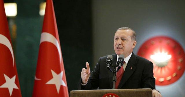 Erdoğan'dan net mesaj