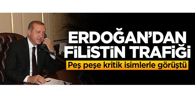 Erdoğan'dan peş peşe kritik görüşmeler!