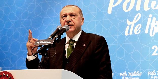 Erdoğan'dan polislere sandık uyarısı!