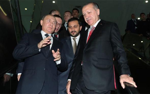 Erdoğan'dan Putin'e sürpriz hediye