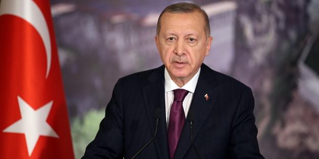Erdoğan'dan şehit ailesine başsağlığı