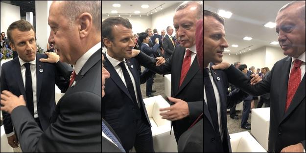 Erdoğan'dan tarihi ayar: Macron'a Kıbrıs konusunda dedim ki...