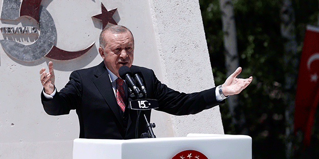 Erdoğan'dan tokat gibi 15 Temmuz mesajı: Bu ülkenin sahibi erzak depolayanlar değil, devlete sahip çıkanlardır
