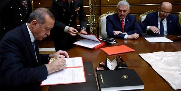 Erdoğan'dan üç kanuna onay!