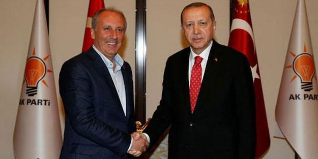 Erdoğan'ı hedef alan Muharrem İnce'yi pişman ettiler