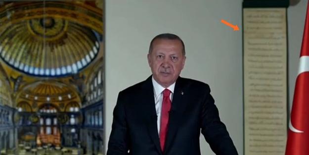 Erdoğan'ın Ayasofya şifresi! 20:53'te dünyayı çılgına çeviren 3 ayrıntı